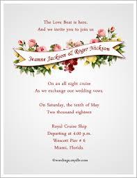 Wedding Inviting Words Destination Wedding Invitation Wording Samples Wordings