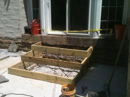 Build A Concrete Patio Clark Kent Creations Swarthmore Pa Landscape Design And