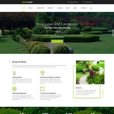 40 Best Garden Design Website Templates Simple Garden Web Design Design