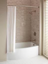fascinating bathroom tubs and showers 20 ideas corner tub shower combo units in white tile