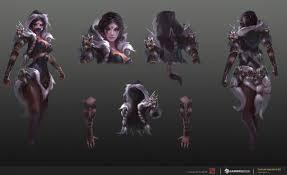 templar assassin dota 2 concept art by trungth