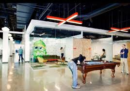 Non Residential: AOLPOOL AND GAME LOUNGE - Cool Offices