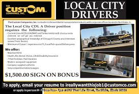 The Custom Companies Veterans View Driving And Transportation Chicago Illinois