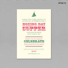 Images Of Christmas Invitations Christmas Invitations Style 13 Boxing Day Supper Geebrothers Co Uk