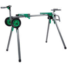 miter saw stand. heavy-duty portable miter saw stand hitachi uu240f new t