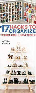 Space Saving Shoe Rack Best 25 Shoe Storage Ideas Only On Pinterest Diy Shoe Storage