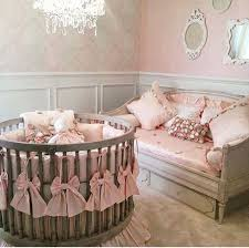pink baby furniture. round crib love this one more pink baby furniture