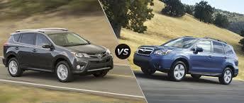 2016 Toyota RAV4 vs 2016 Subaru Forester