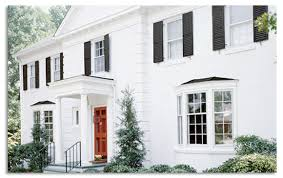 exterior paint colors for colonial style house. in its new classic red door palette for the american colonial style of architecture, behr recommends silver sky as a base exterior, with dark deep space exterior paint colors house n