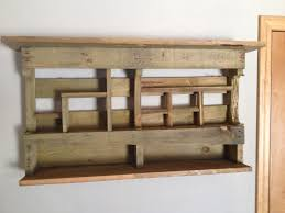 decorating reclaimed wood wall shelves rustic mount shelf