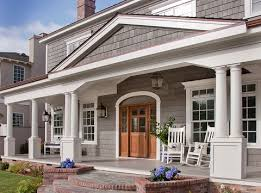 Exterior Finishes Made Of Engineered Materials Provide Quality Benefits Custom Exterior Homes Property