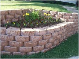 Small Picture Backyards Enchanting Wood Retaining Wall Landscaping Hardscaping