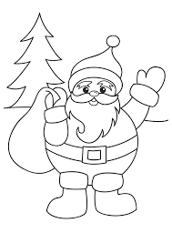 Small Picture Awesome Santa Coloring Page Gallery New Printable Coloring Pages
