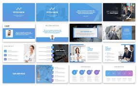 Pitch Deck Solution Presentation Powerpoint Template 77574