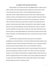 response essay response essay in george orwell s  6 pages 1984 essay