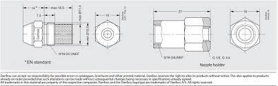 Full Chart Details Of Danfoss Oil Nozzles