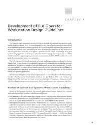chapter development of bus operator workstation design  page 37