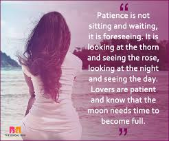 Patience Is A Virtue Quote Simple Quotes On Patience In Love 48 Best Ones Ever