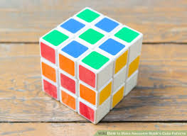 Rubik's Cube Patterns 3x3 Beauteous 48 Ways To Make Awesome Rubik's Cube Patterns WikiHow