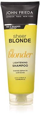 <b>John Frieda Sheer Blonde</b> Go Blonder Lightening Shampoo for ...