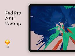 Ipad Design Sketch Free Ipad Pro Mockups For 2019 Psd Sketch Ux Planet