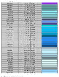 Rgb To Color Name Mapping
