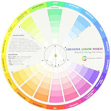 Colour Wheel Chart Colors Creative Color Wheel