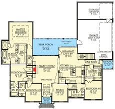 acadian house plans. 4 bed acadian house plan with bonus room - 56377sm floor main level plans a