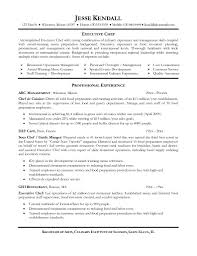Cover Letter Sample Resume Chef Sample Resume Chef Assistant