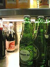 bottled ginger ale