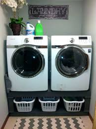 appliance pedestal laundry with drawers diy washing machine