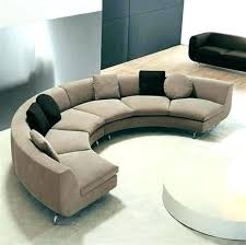 round sectional couch semi sectional