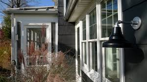12 photos gallery of gooseneck outdoor light fixture for many purposes
