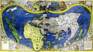 Afbeeldingsresultaat voor wereldkaart 1500