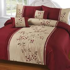 wine coloured bedding sleep in style images bedroom entryway on new hot solid colors designpcs pcs