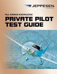 Jeppesen Chart Study Guide Jeppesen Private Pilot Airmen Knowledge Test Guide