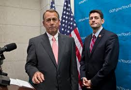 John boehner quit because he was going to get fired. On Health And Fitness Paul Ryan And John Boehner A Study In Contrasts Cbs News