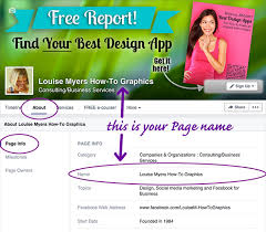 how to change your facebook page name step 1 go to page info tab