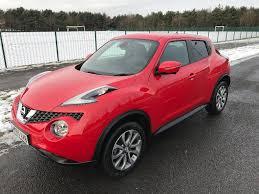 2015 (65 Reg) Nissan Juke 1.5 dCi Tekna Flame Red Diesel Manual ...