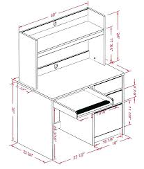 office desk size. Delighful Desk Standard Desk Size Average Office Study Table Dimensions  Designs Mm In Office Desk Size
