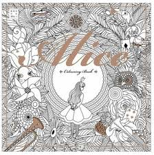 Small Picture Top Selling 2525cm Alice In Wonderland Colouring Book Secret