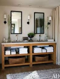 diy double sink vanity. beautiful bathroom home decor! what better feeling than coming back to diy double sink vanity 2