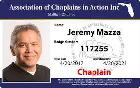 Chaplains Aca – Aca Instantcard Chaplains