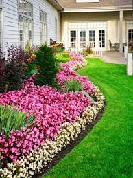 how to create borders with flowers and
