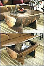 reversible reclaimed wine barrel. Wine Barrel Coffee Table Plans Oak Making Chairs Best Ideas On Reversible Reclaimed
