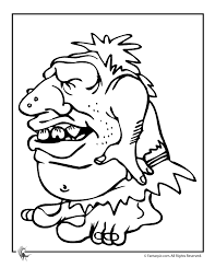 Ugly Troll Colouring Pages Page 2 Kleurplaat Coloring Pages