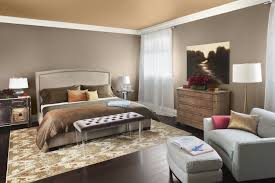 Bedroom:Stunning Bedroom Design With Grey Wall Paint And Corner White  Standing Lamp Decor Ideas