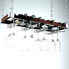 wall mounted wine and glass rack mount espresso bottle stemware ceiling at enthusiast a hanging ikea hanging wine glass rack ikea