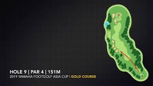 Footgolf Course Design Gold Course Footgolf Asia Cup 2019