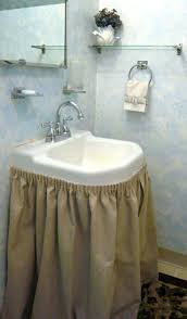 bathroom sink skirt marvellous sink how to make a bathroom skirt top 10 easy diy